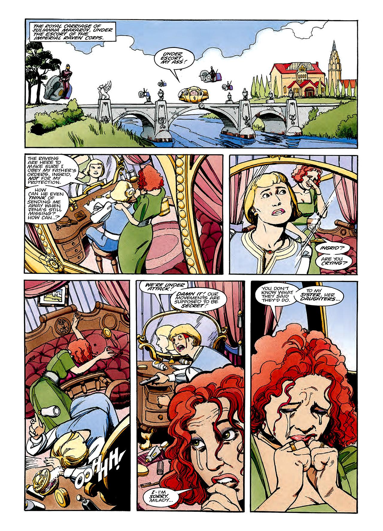 Read online Nikolai Dante comic -  Issue # TPB 3 - 113