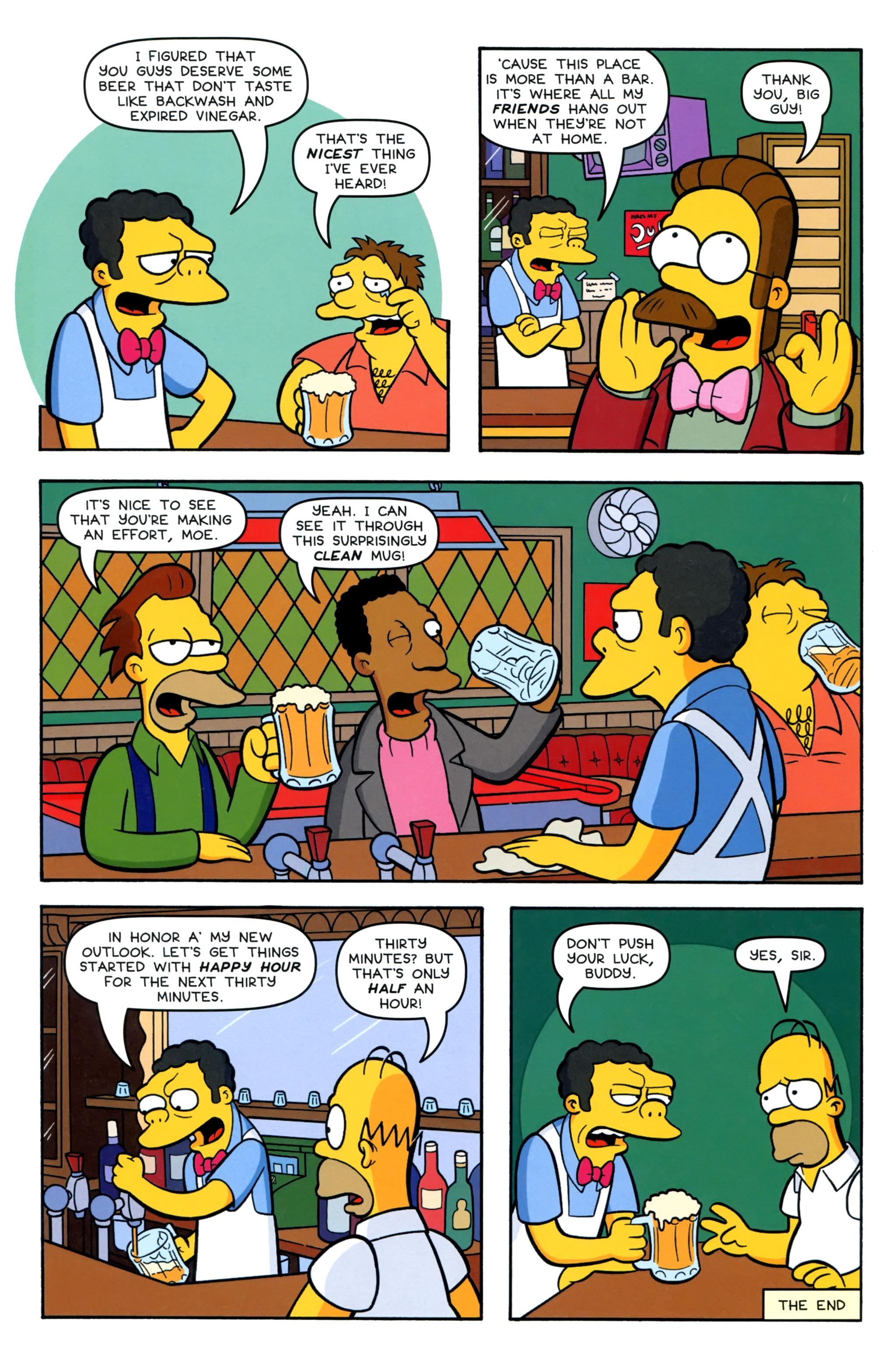 Read online Simpsons Comics comic -  Issue #220 - 26