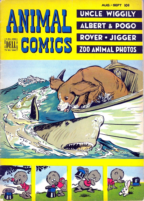 Read online Animal Comics comic -  Issue #28 - 1