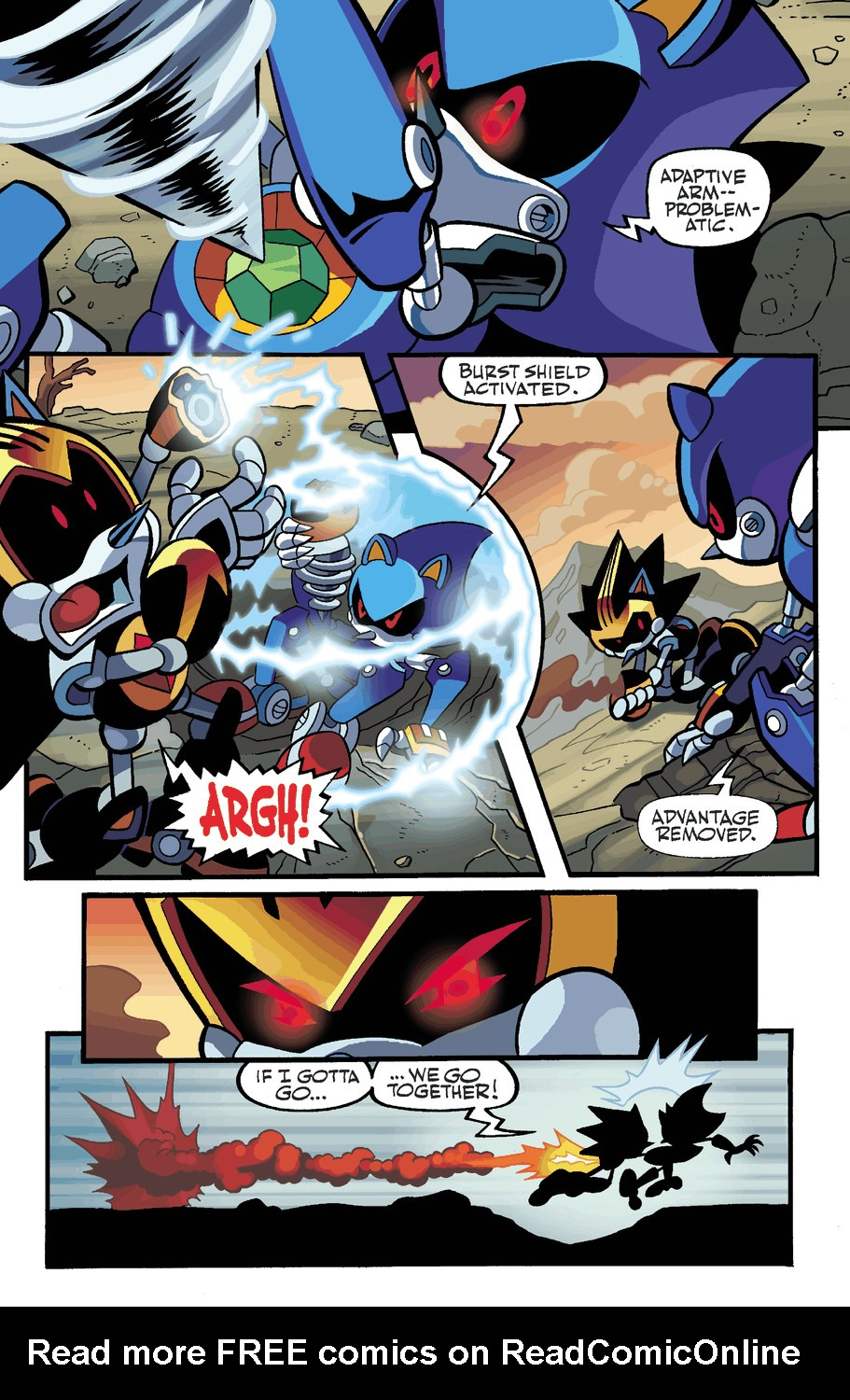 Read online Sonic Universe comic -  Issue #50 - 20