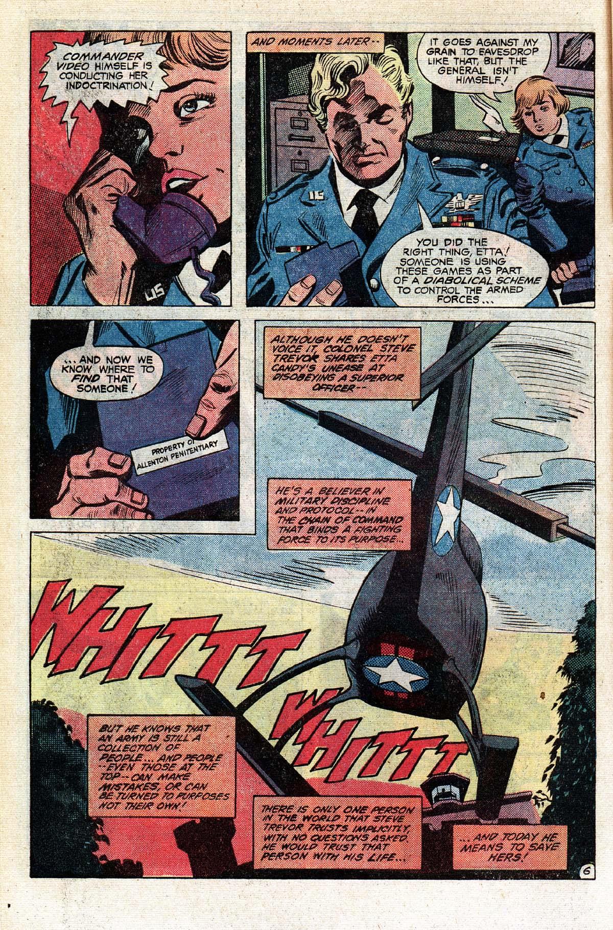 Read online Wonder Woman (1942) comic -  Issue #296 - 7