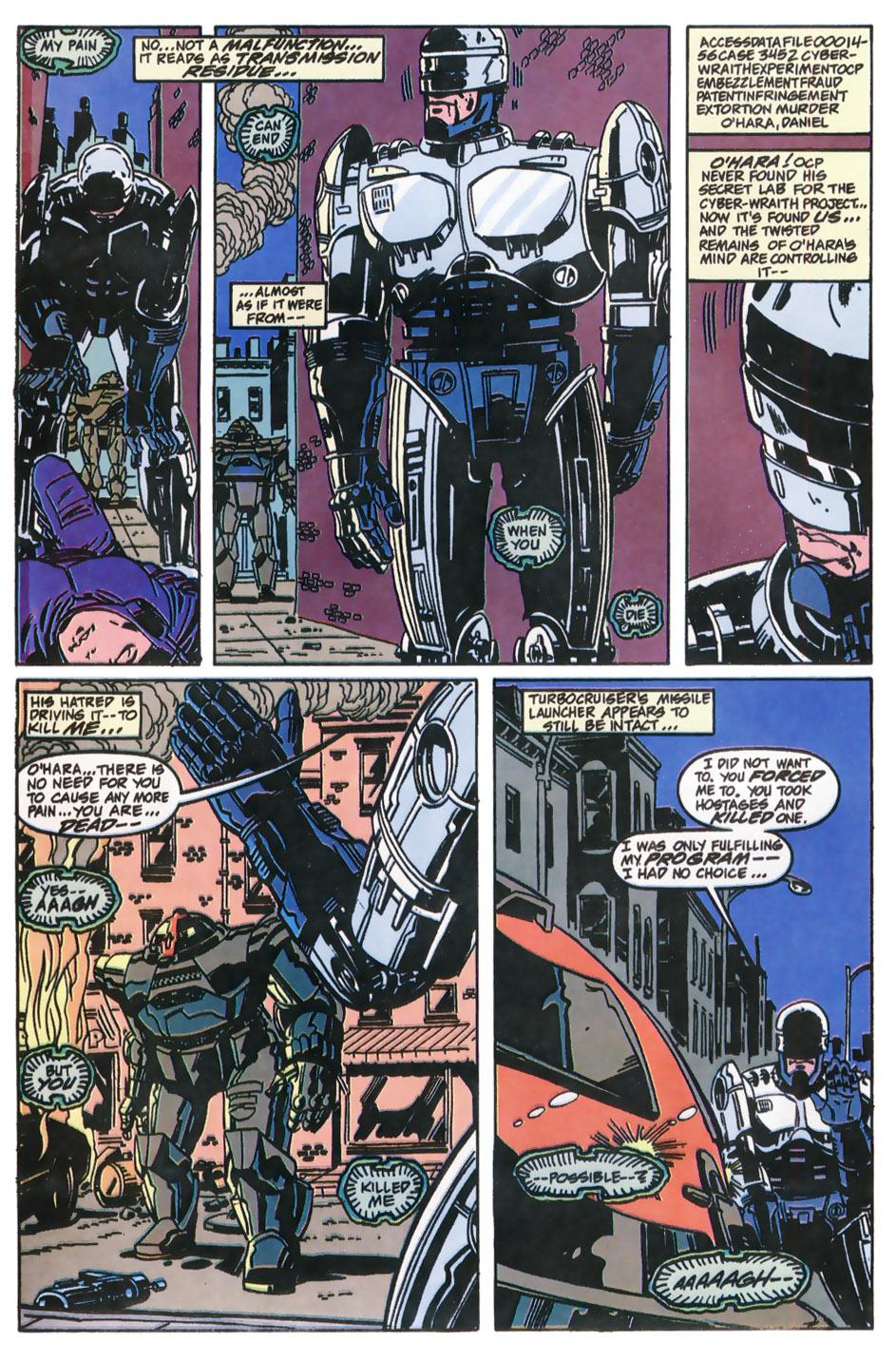 Read online Robocop (1990) comic -  Issue #11 - 17