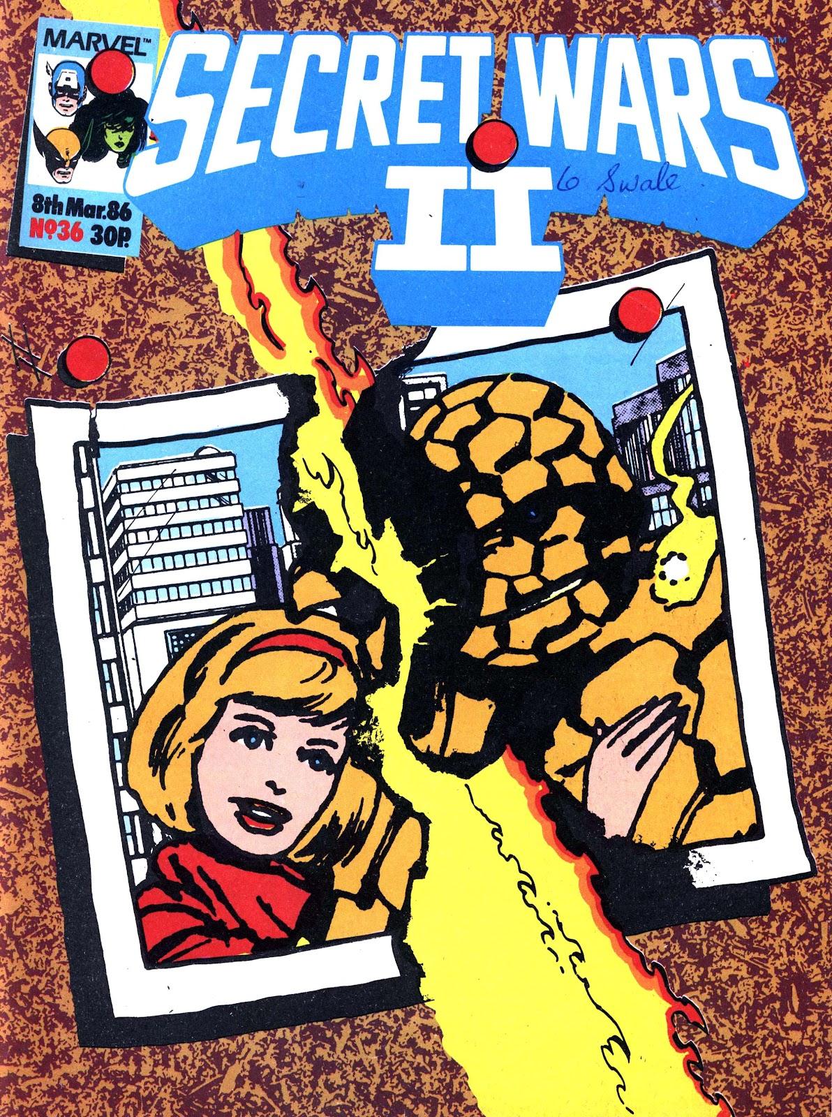 Secret Wars (1985) issue 36 - Page 1