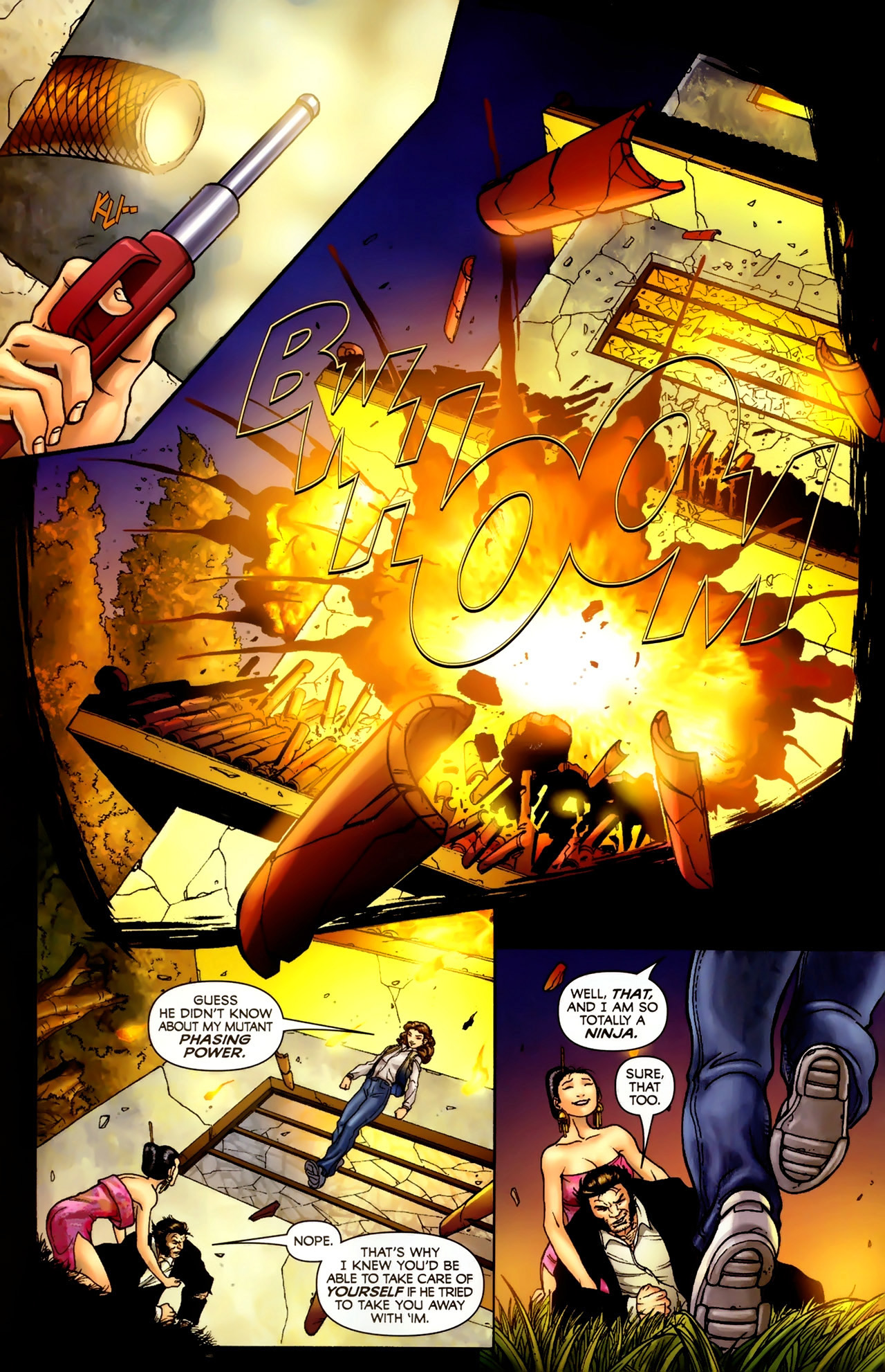 Read online Wolverine: First Class comic -  Issue #2 - 21