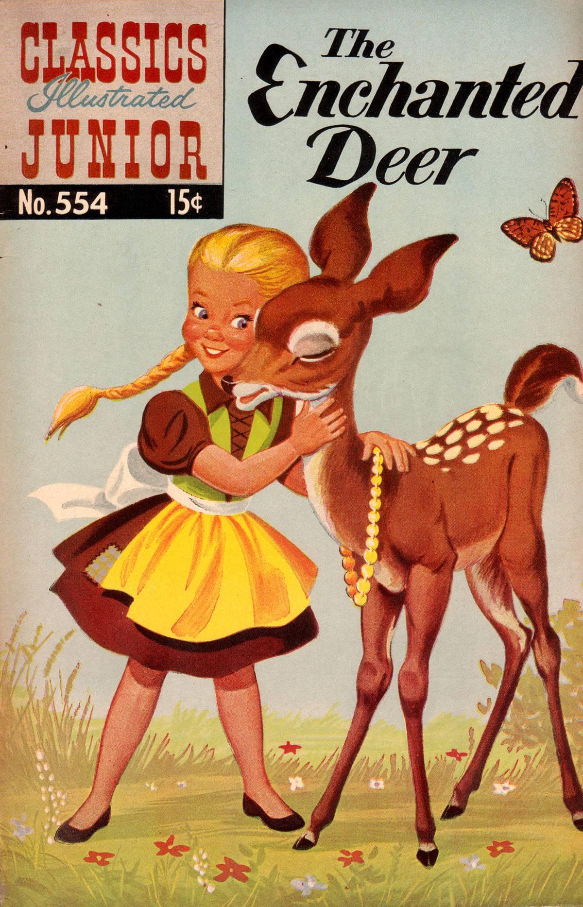 Classics Illustrated Junior 554 Page 1