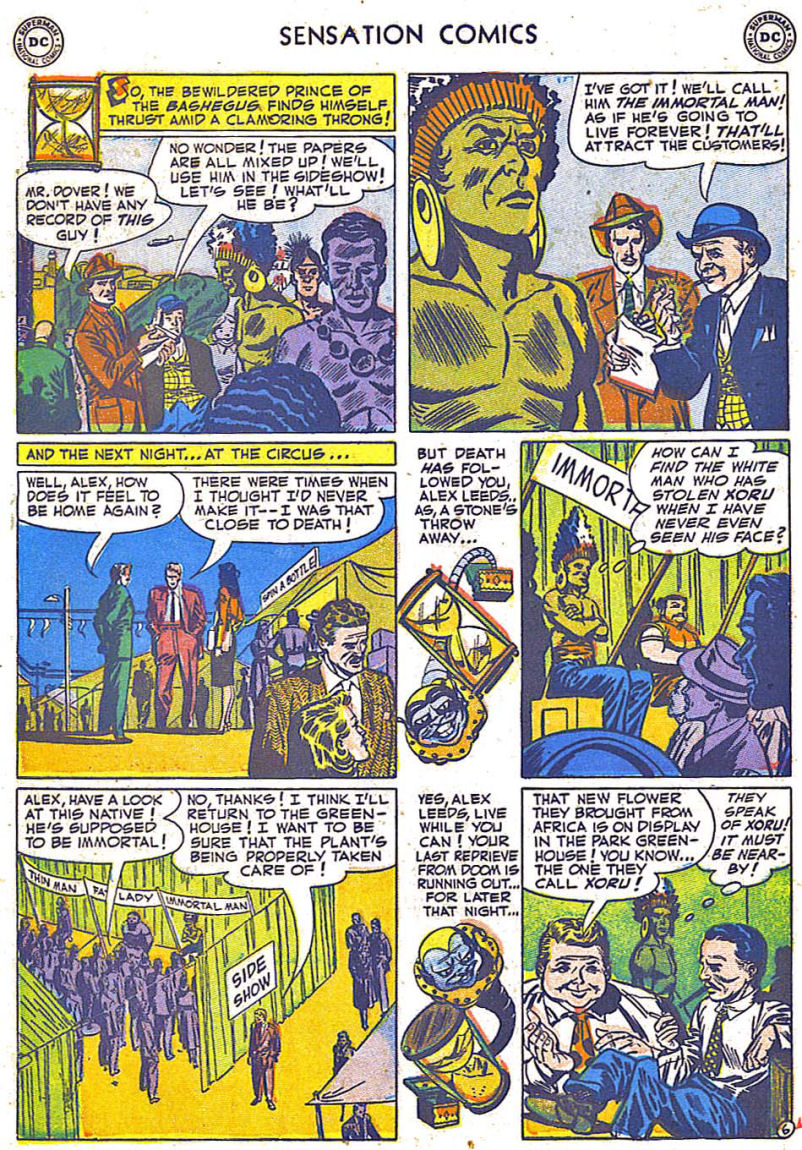 Read online Sensation (Mystery) Comics comic -  Issue #108 - 30