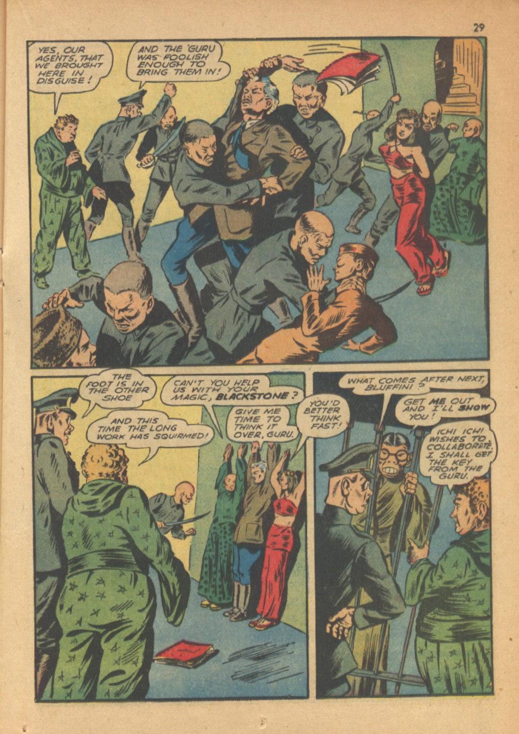 Read online Super-Magician Comics comic -  Issue #13 - 29