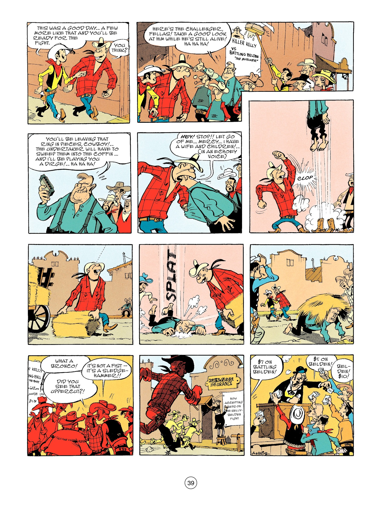 Read online A Lucky Luke Adventure comic -  Issue #56 - 39