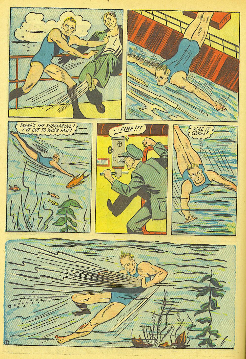 Read online Amazing Man Comics comic -  Issue #19 - 20