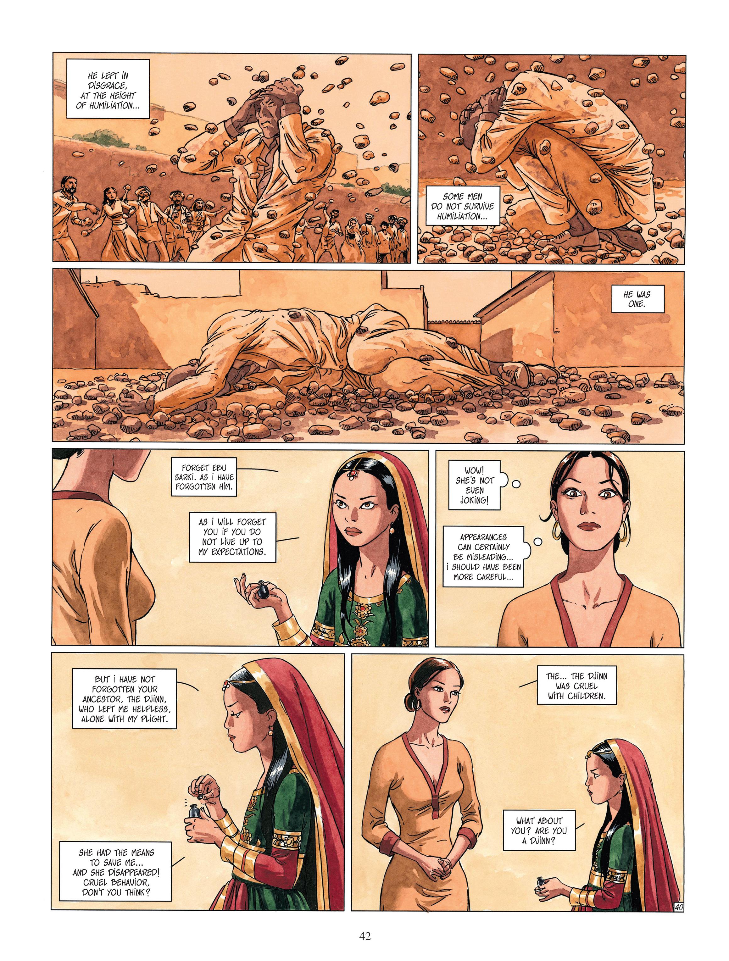 Read online Djinn comic -  Issue #13 - 43