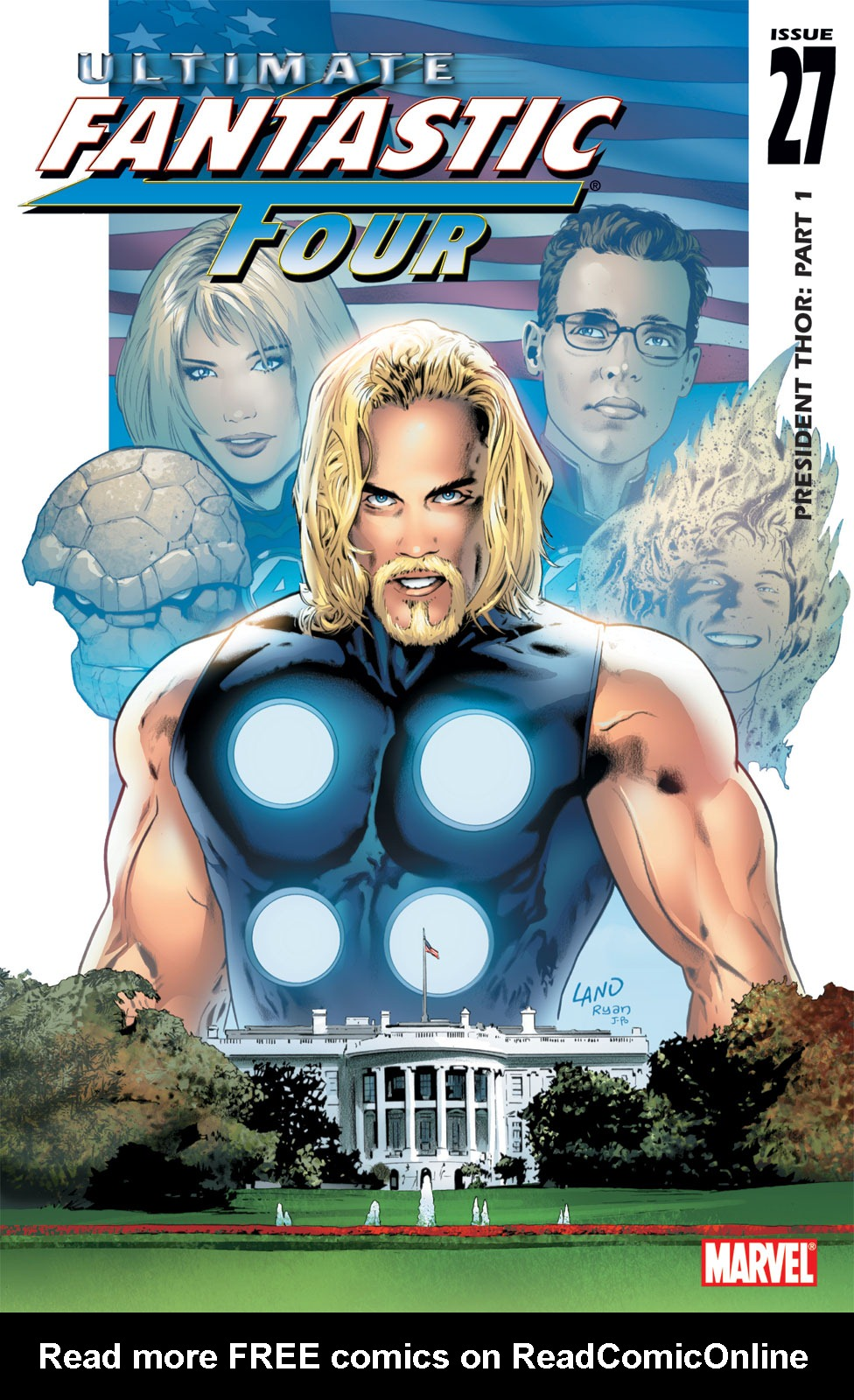 Read online Ultimate Fantastic Four (2004) comic -  Issue #27 - 1