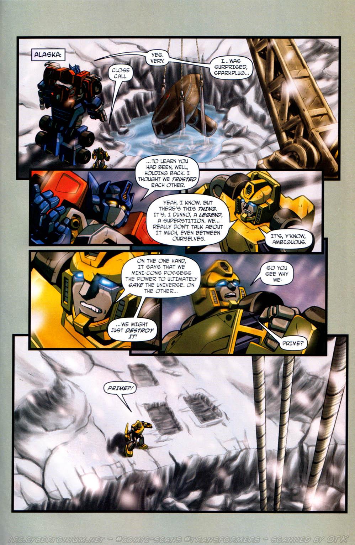 Read online Transformers Armada comic -  Issue #13 - 23