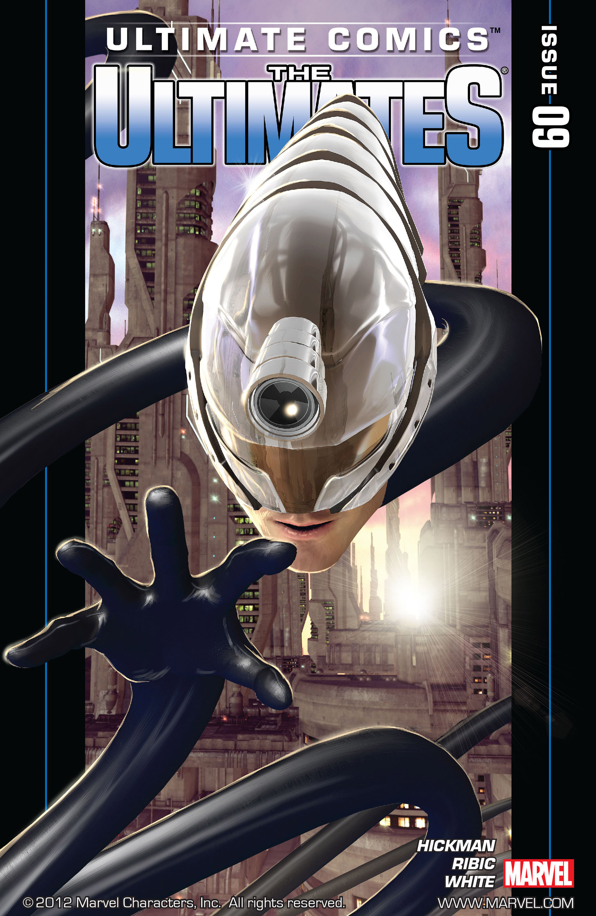 Read online Ultimate Comics Ultimates comic -  Issue #9 - 1