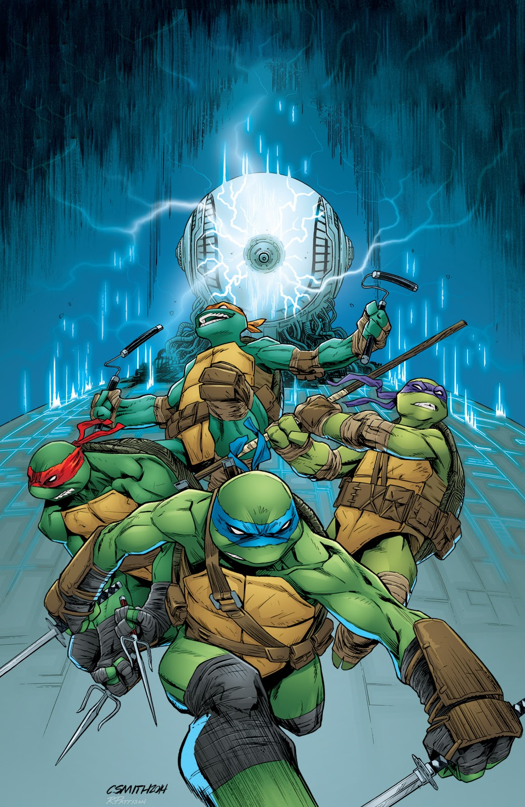 Read online Teenage Mutant Ninja Turtles: The IDW Collection comic -  Issue # TPB 5 (Part 4) - 55