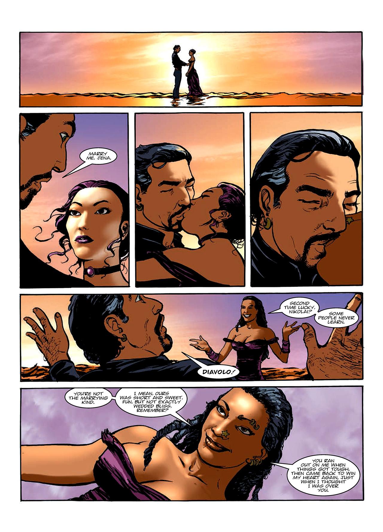 Read online Nikolai Dante comic -  Issue # TPB 10 - 118