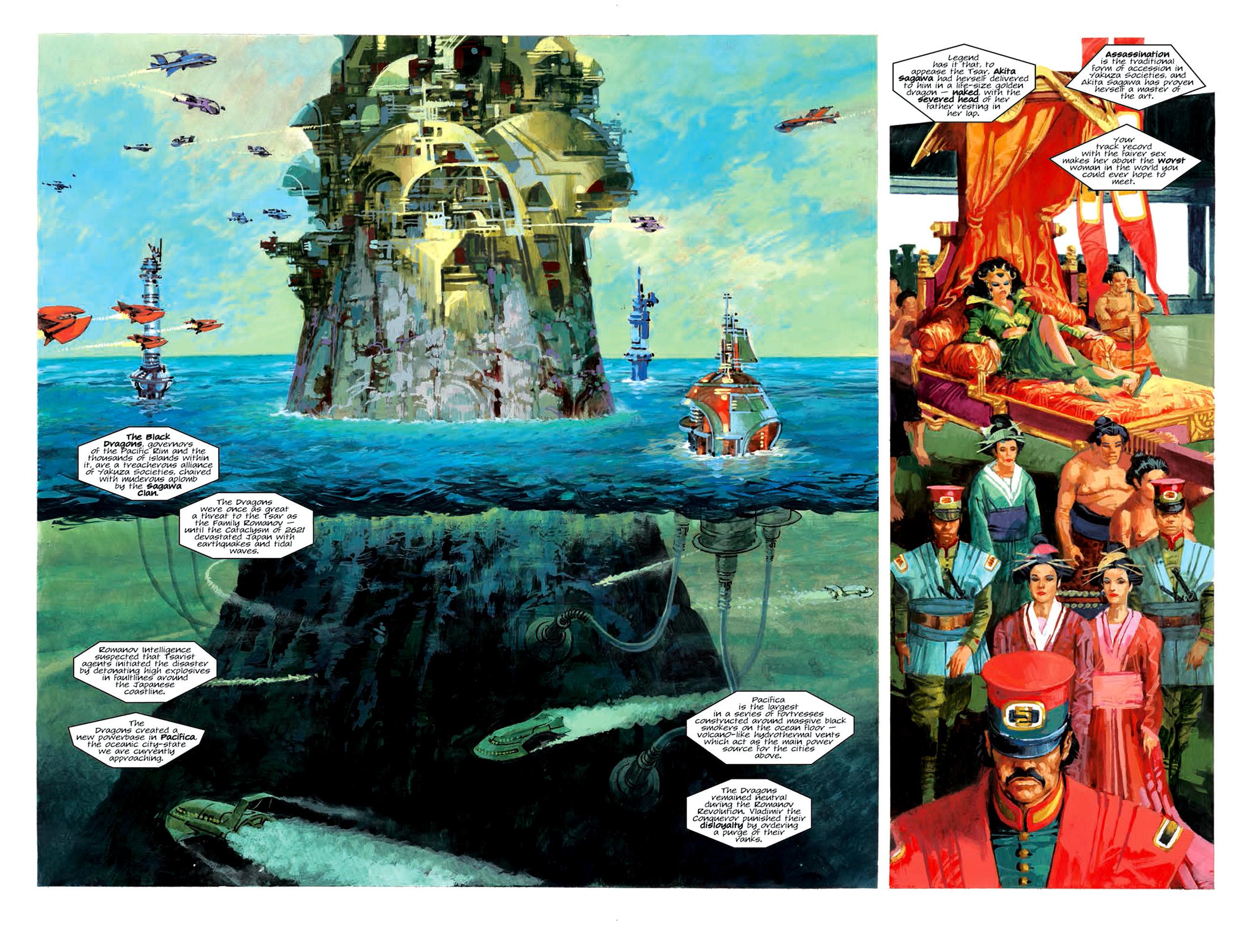 Read online Nikolai Dante comic -  Issue # TPB 6 - 105