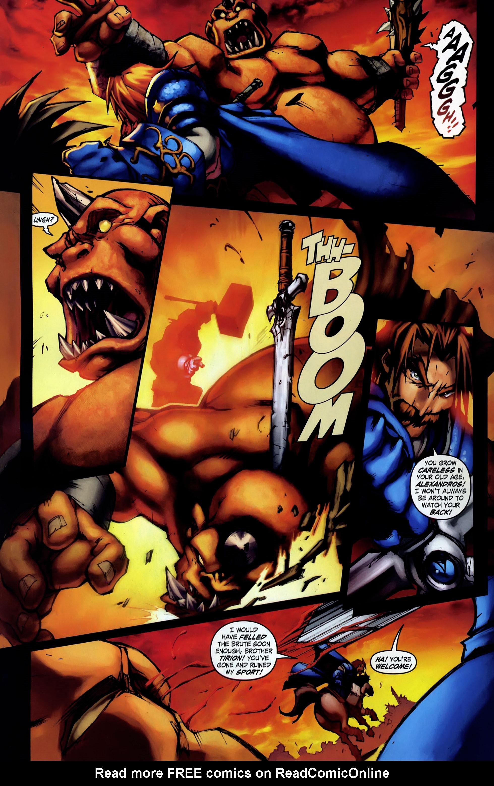 Read online World of Warcraft: Ashbringer comic -  Issue #1 - 4