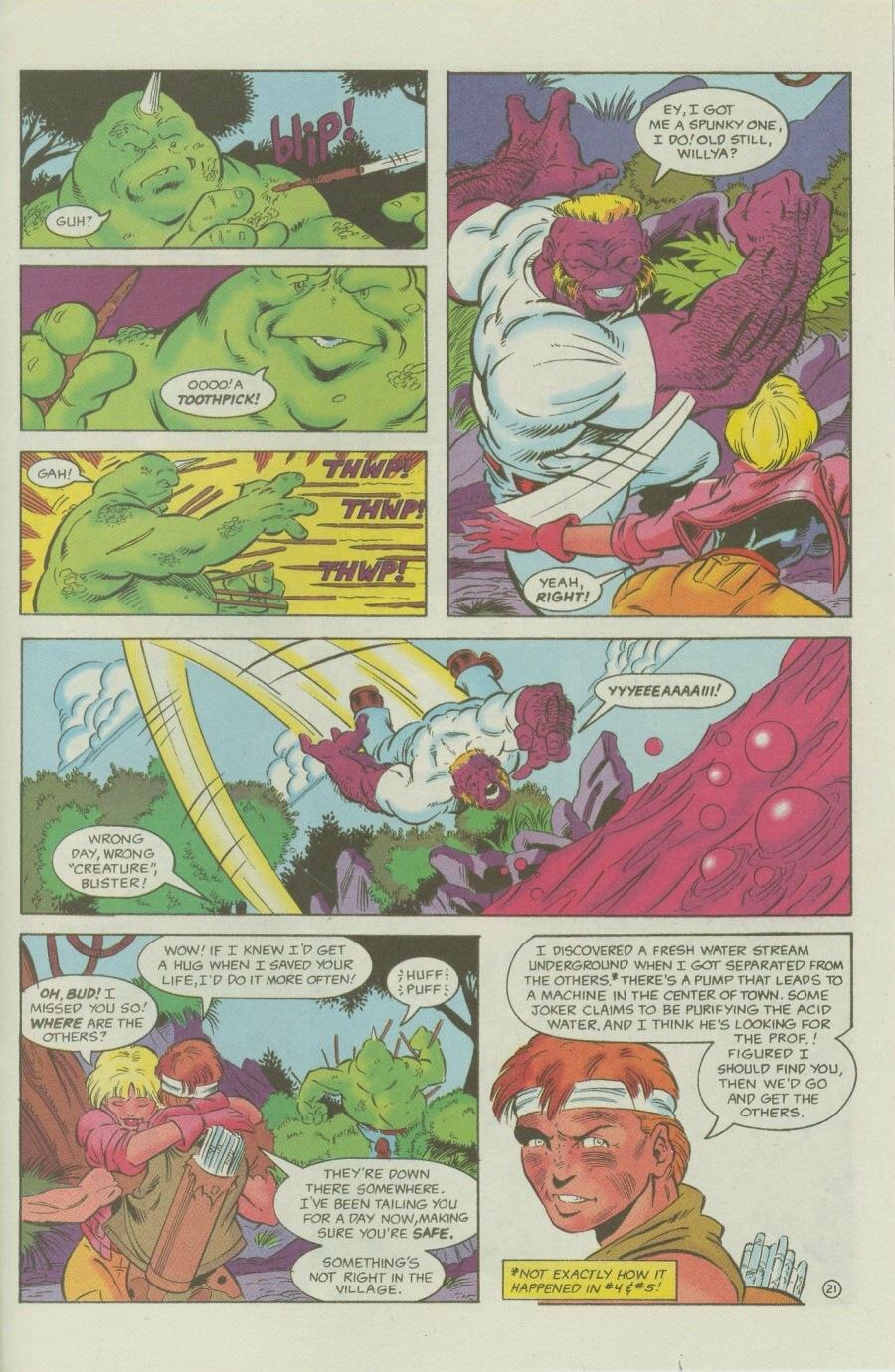 Read online Ex-Mutants comic -  Issue #6 - 27