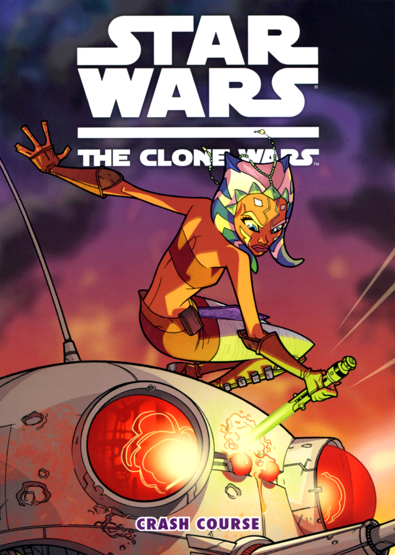 Read online Star Wars: The Clone Wars - Crash Course comic -  Issue # Full - 1