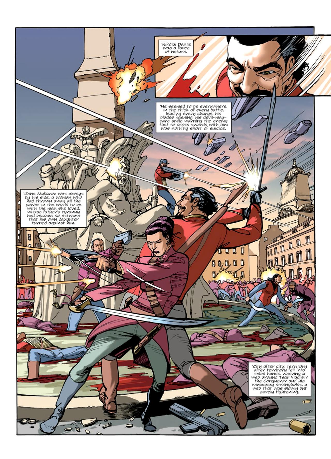 Read online Nikolai Dante comic -  Issue # TPB 9 - 133