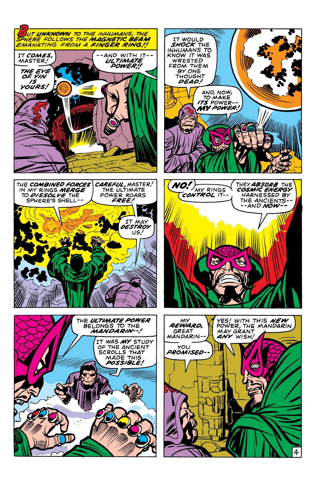 Read online Marvel Masterworks: The Inhumans comic -  Issue # TPB 1 (Part 2) - 6