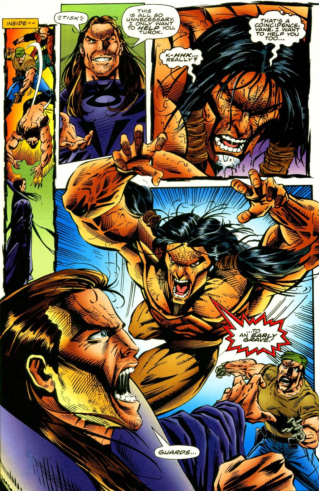 Read online Turok, Dinosaur Hunter (1993) comic -  Issue #42 - 6