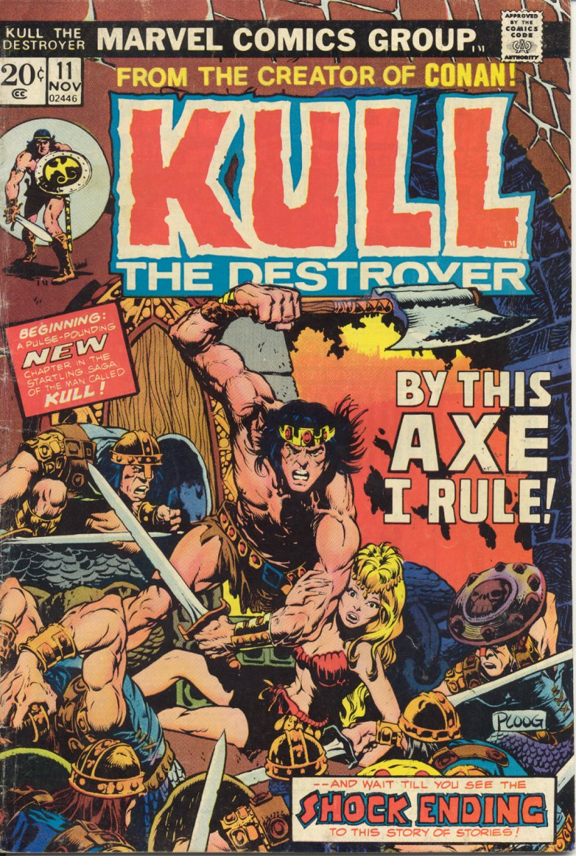 Kull The Destroyer issue 11 - Page 1