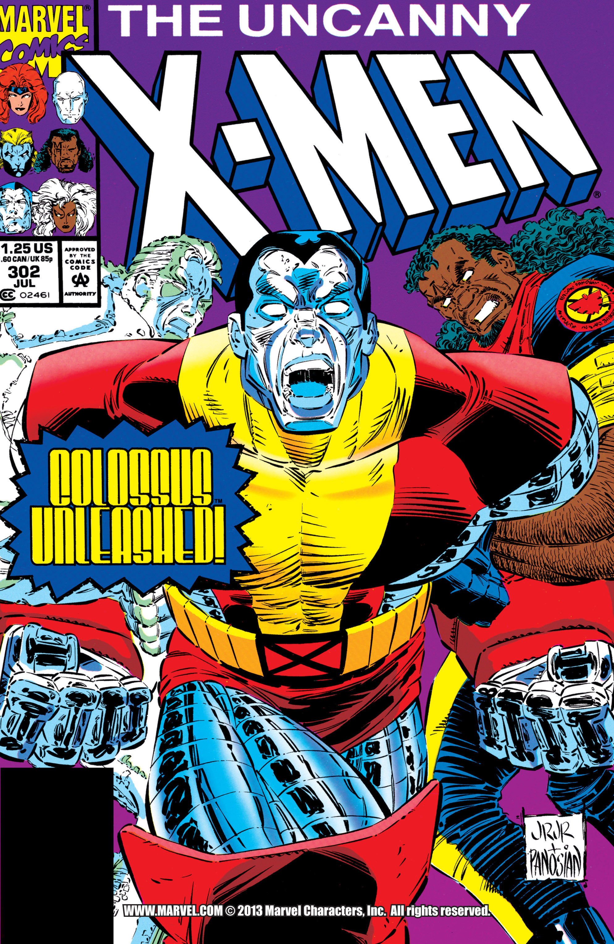Uncanny X-Men (1963) 302 Page 1
