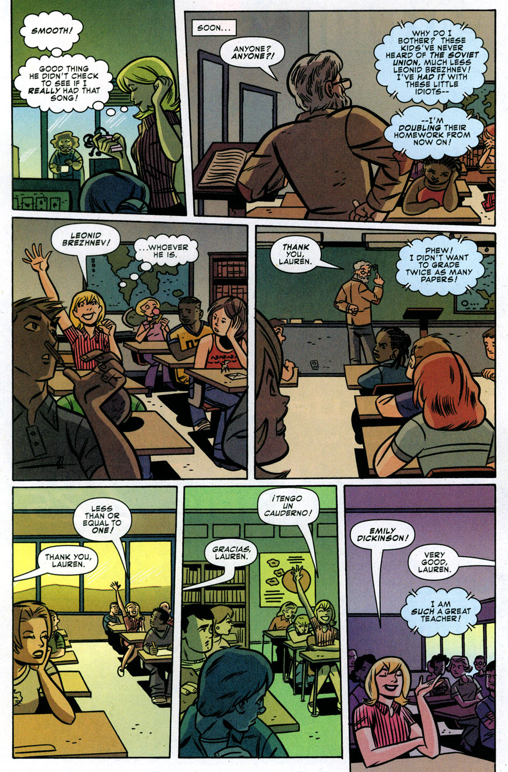 Read online Bad Girls comic -  Issue #3 - 13