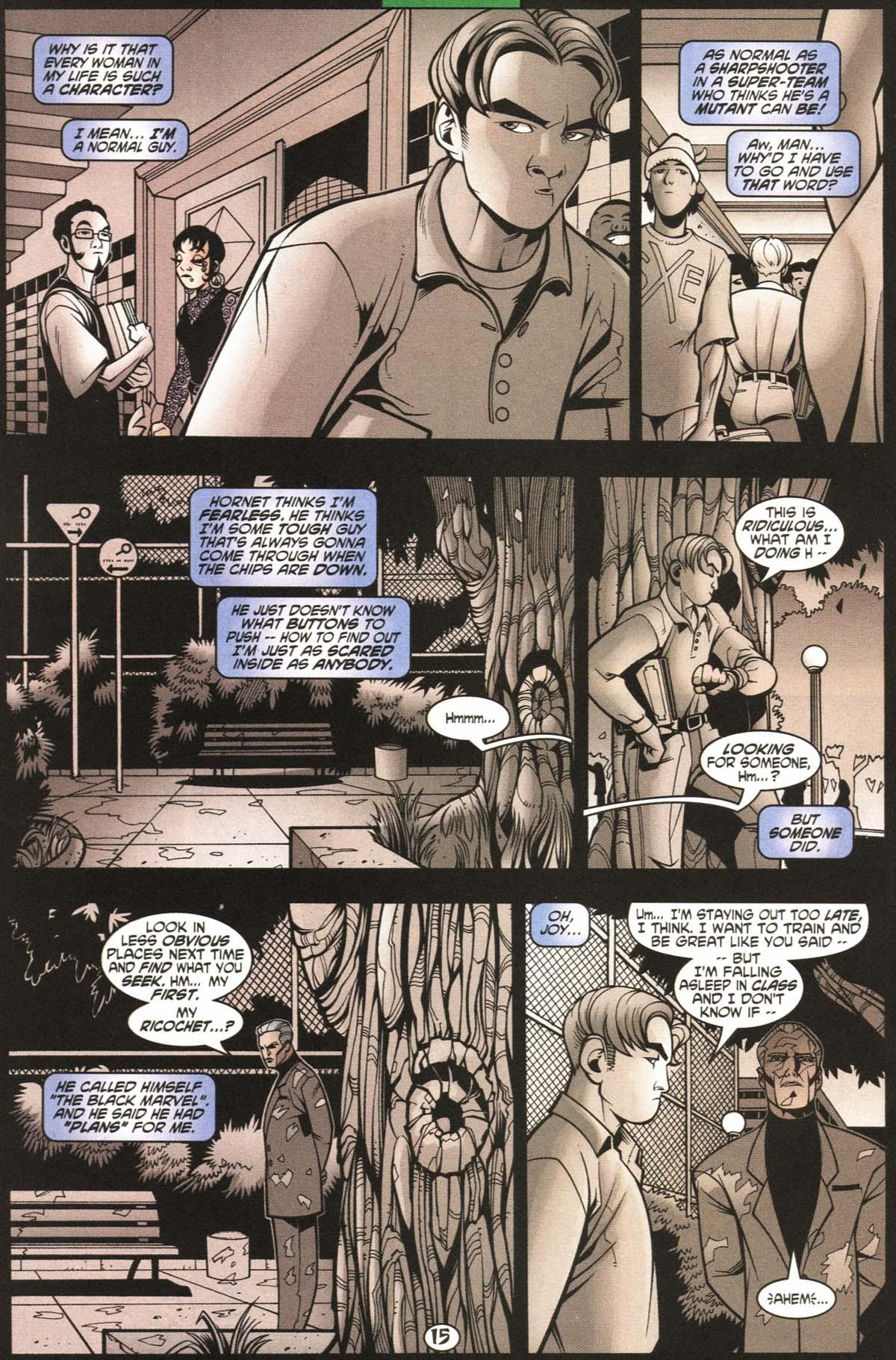Read online Slingers comic -  Issue #6 - 16