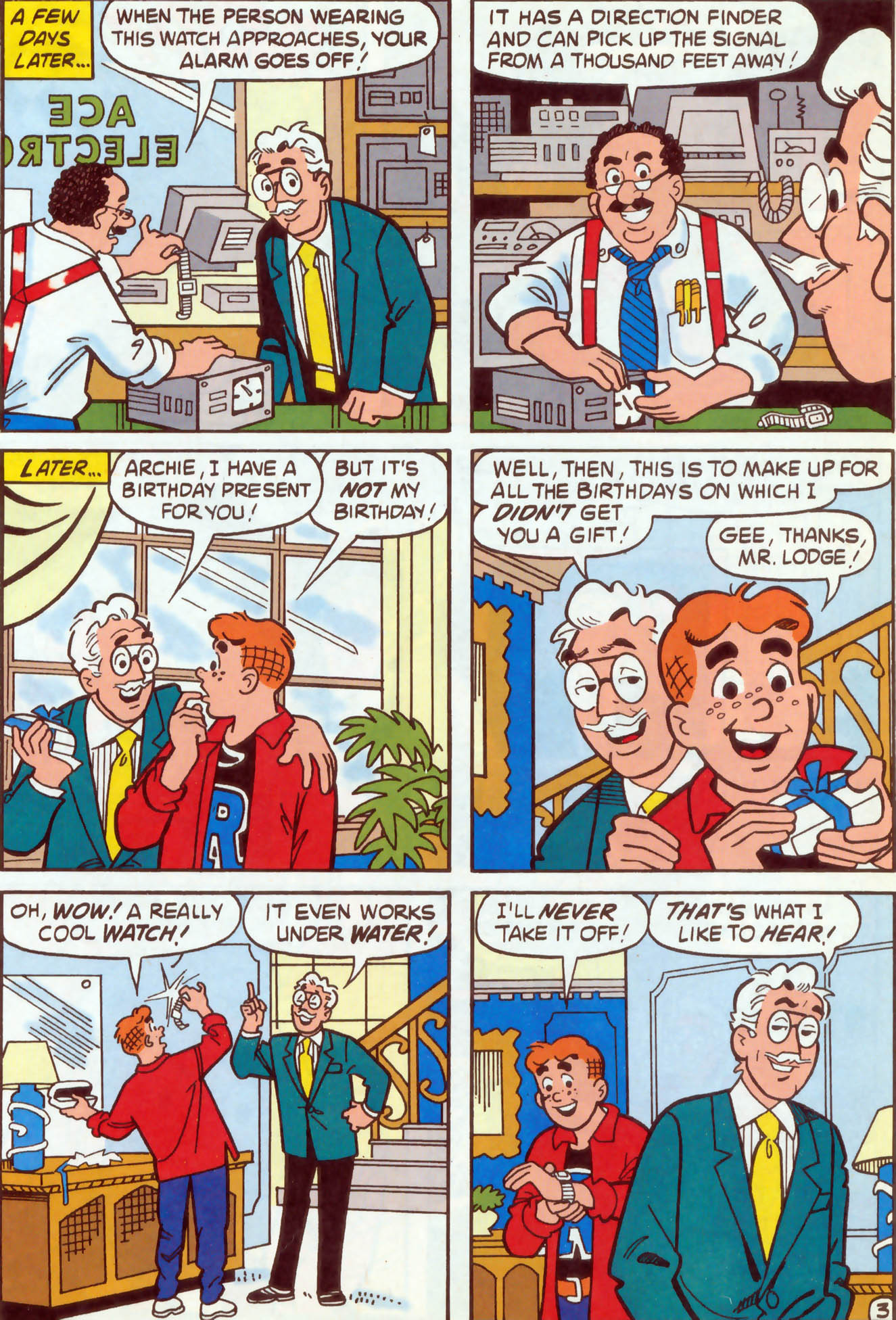 Read online Archie (1960) comic -  Issue #470 - 11