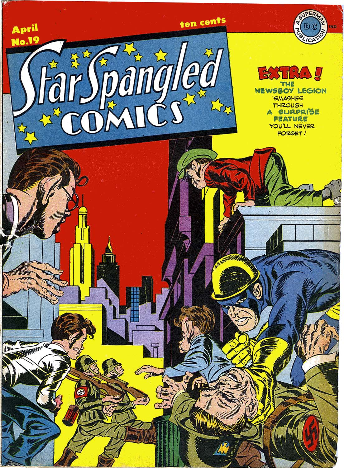 Star Spangled Comics (1941) issue 19 - Page 1