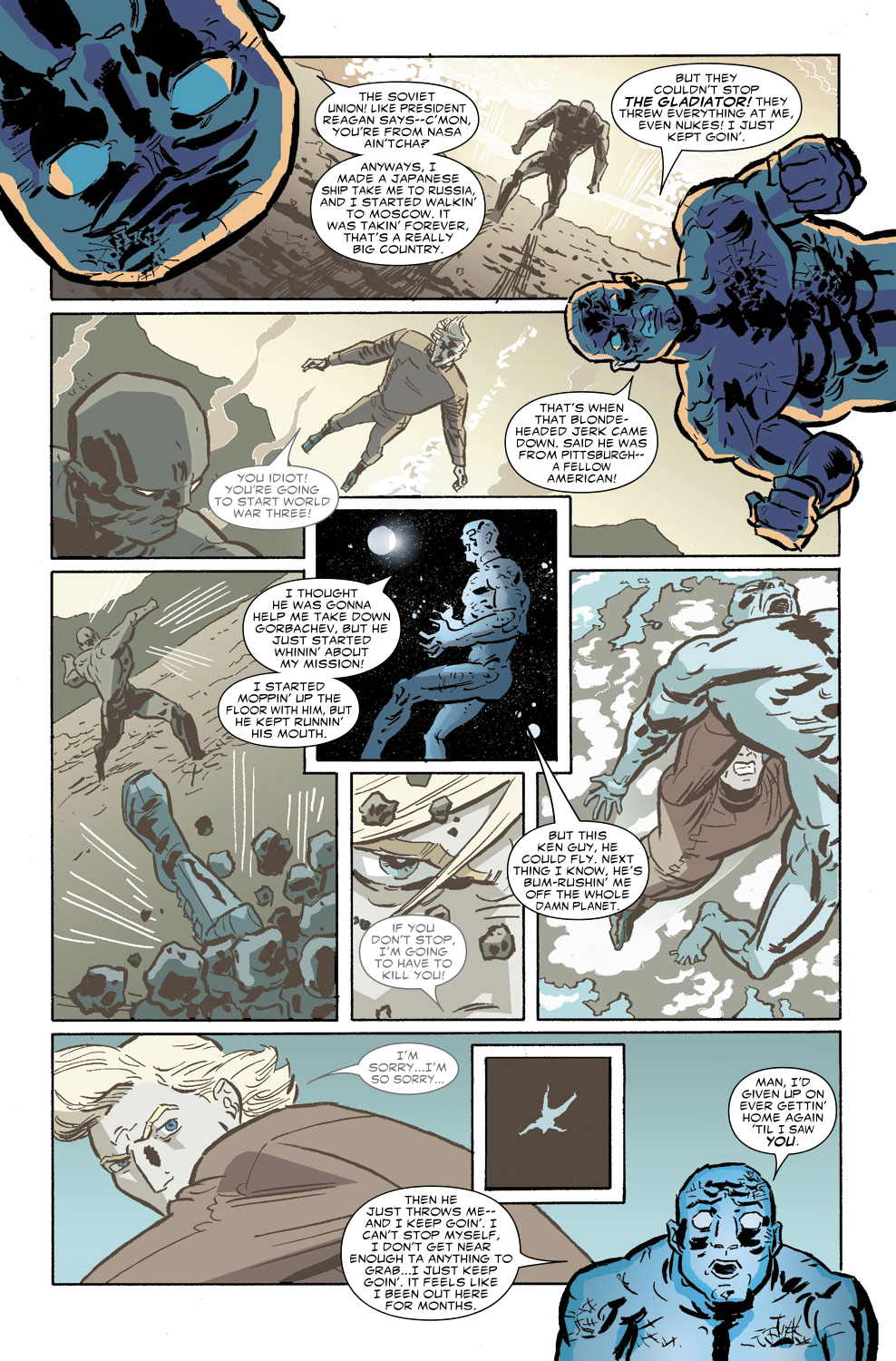 Read online Untold Tales Of The New Universe: Star Brand comic -  Issue # Full - 6