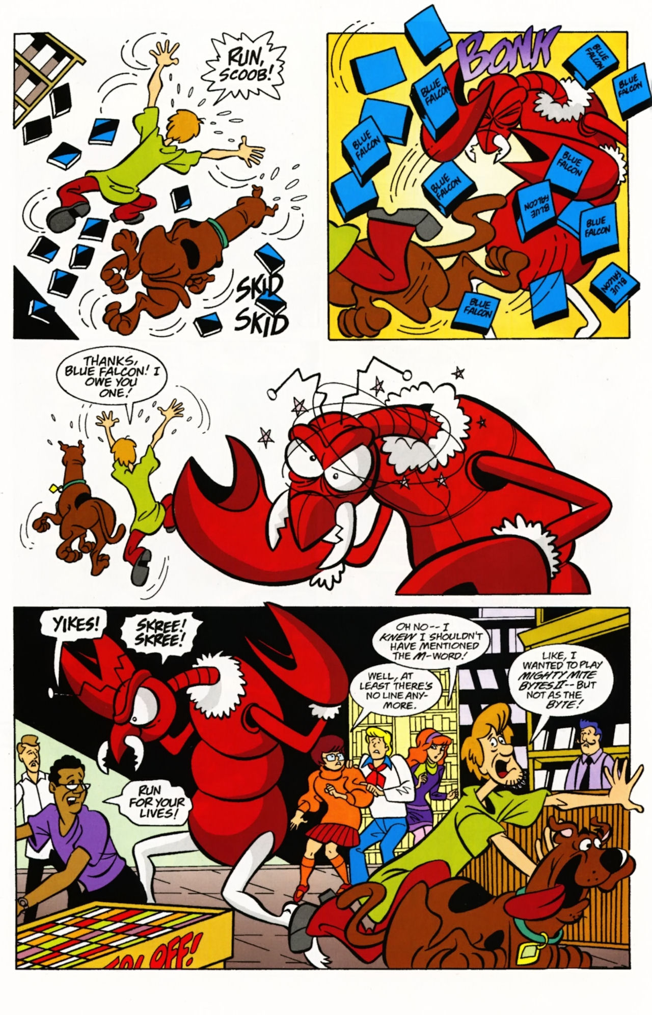 Read online Scooby-Doo: Where Are You? comic -  Issue #4 - 6