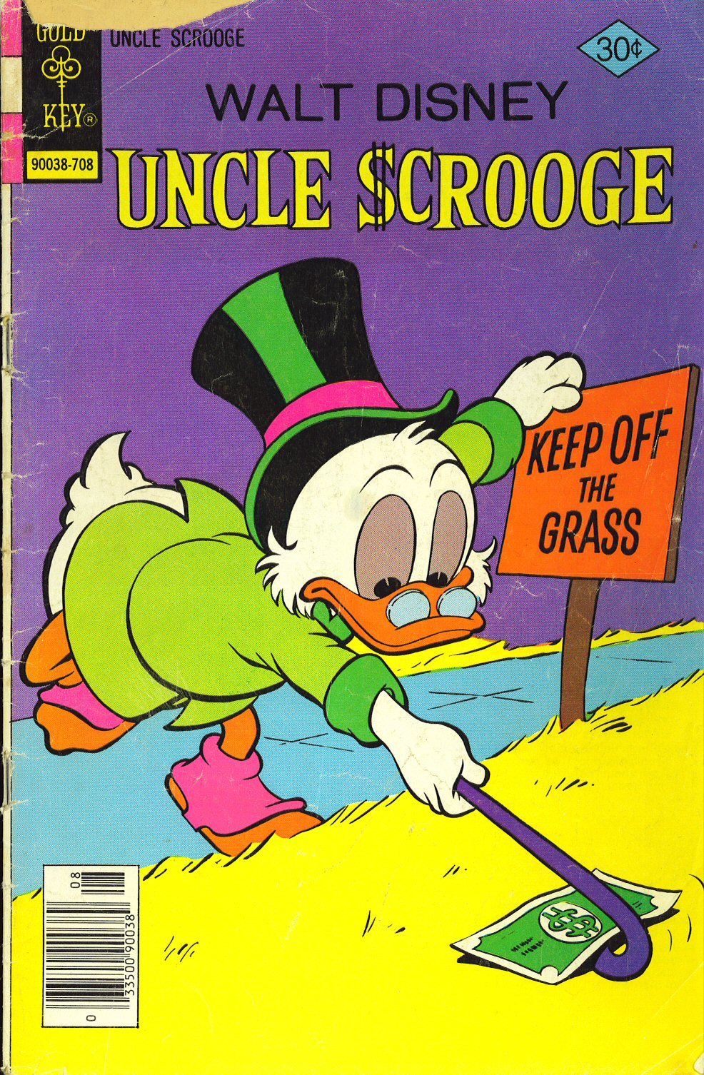 Read online Uncle Scrooge (1953) comic -  Issue #143 - 1