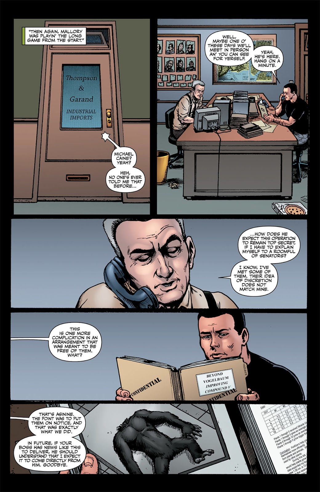 Read online The Boys: Butcher, Baker, Candlestickmaker comic -  Issue #6 - 6