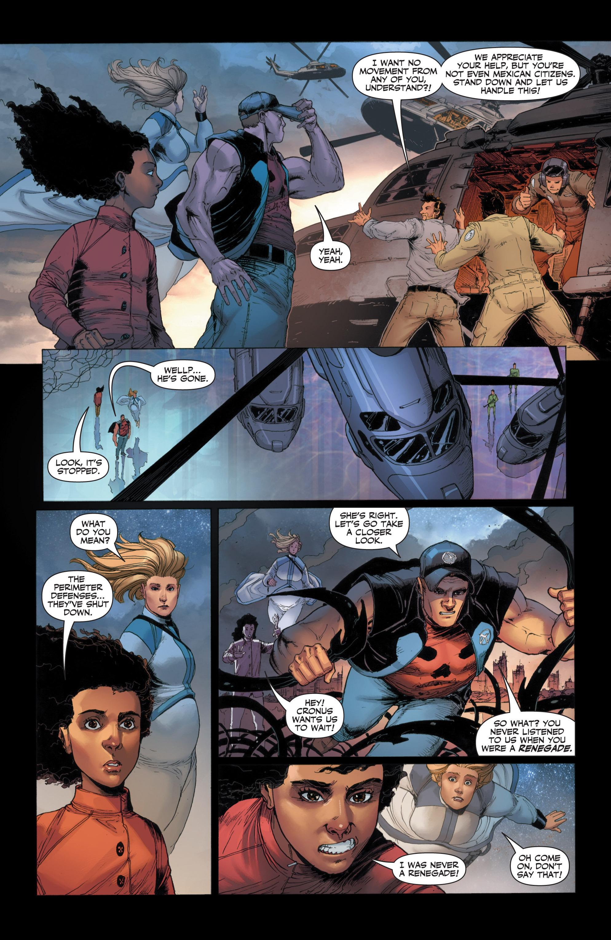 Read online Armor Hunters: Harbinger comic -  Issue # TPB - 37