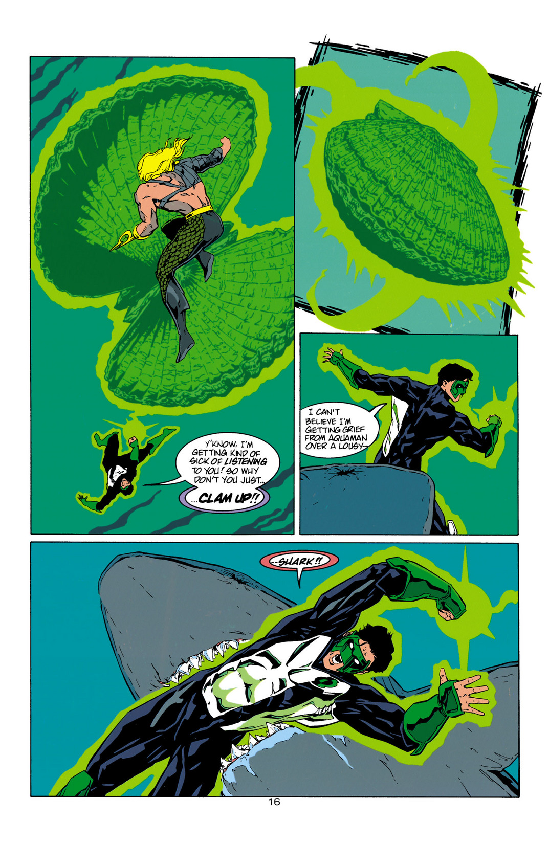 Read online Aquaman (1994) comic -  Issue #10 - 17