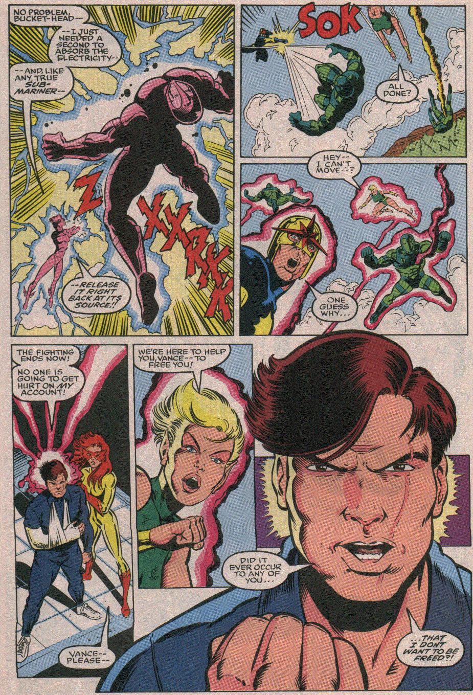 The New Warriors Issue #26 #30 - English 17