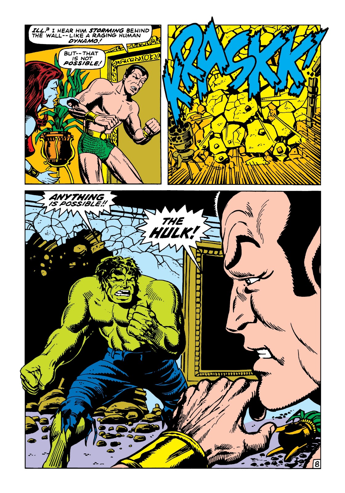 Read online Marvel Masterworks: The Incredible Hulk comic -  Issue # TPB 5 (Part 2) - 61