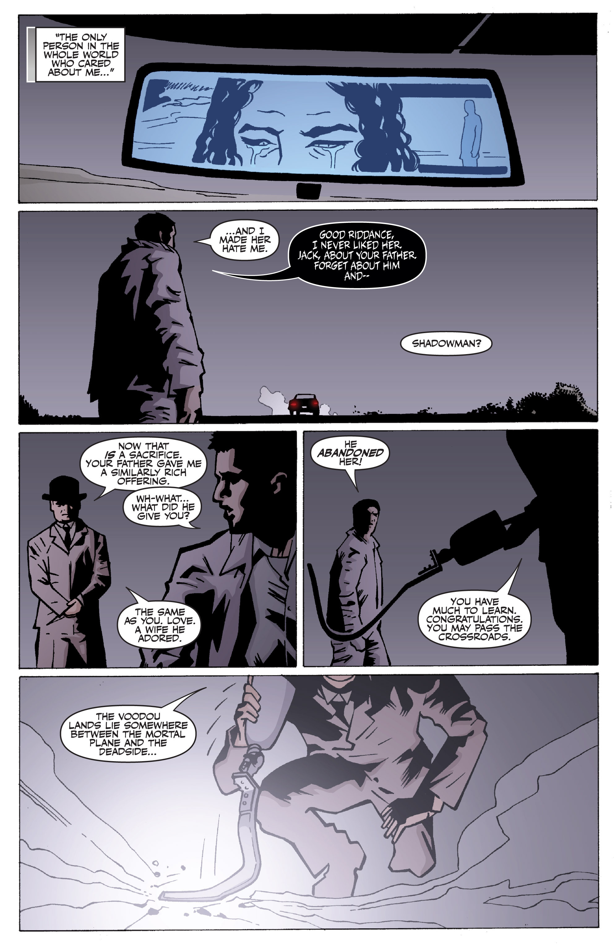 Read online Shadowman: End Times comic -  Issue #2 - 22