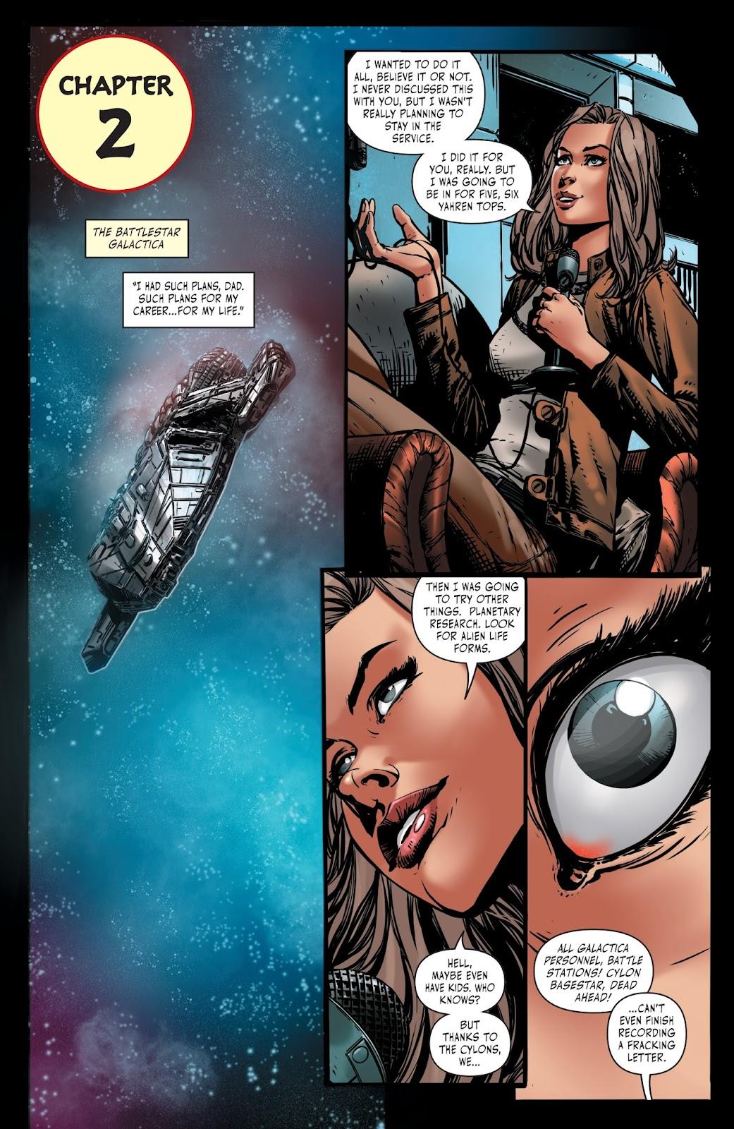 Battlestar Galactica BSG vs. BSG issue 1 - Page 20