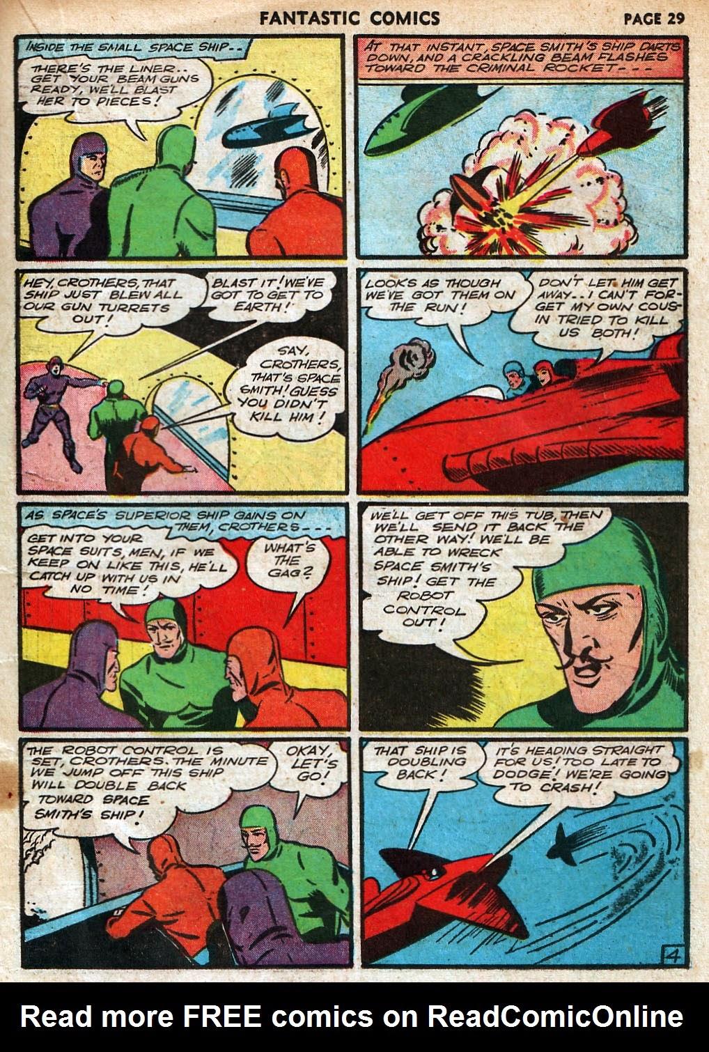 Read online Fantastic Comics comic -  Issue #18 - 31