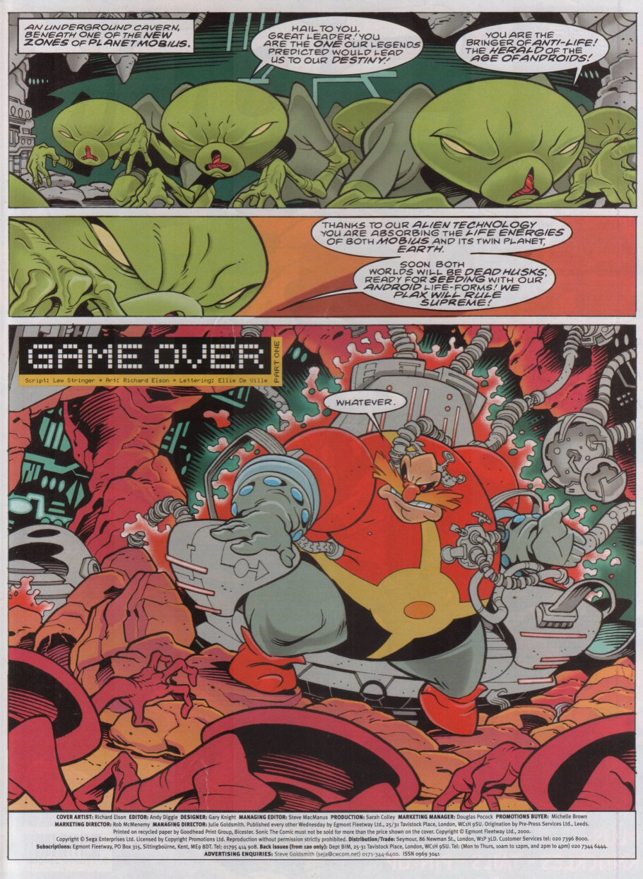 Read online Sonic the Comic comic -  Issue #173 - 2