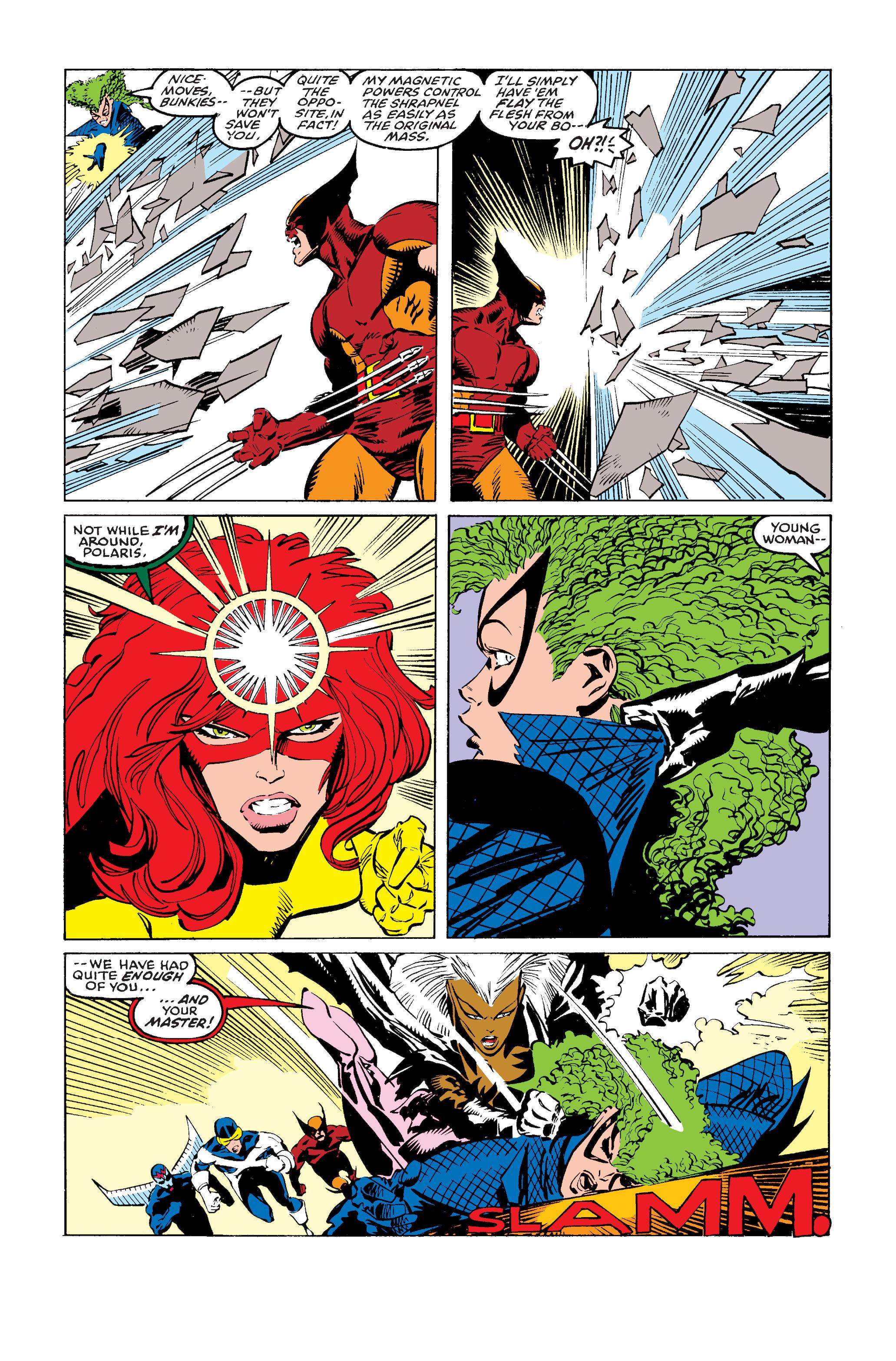Read online Uncanny X-Men (1963) comic -  Issue #243 - 22