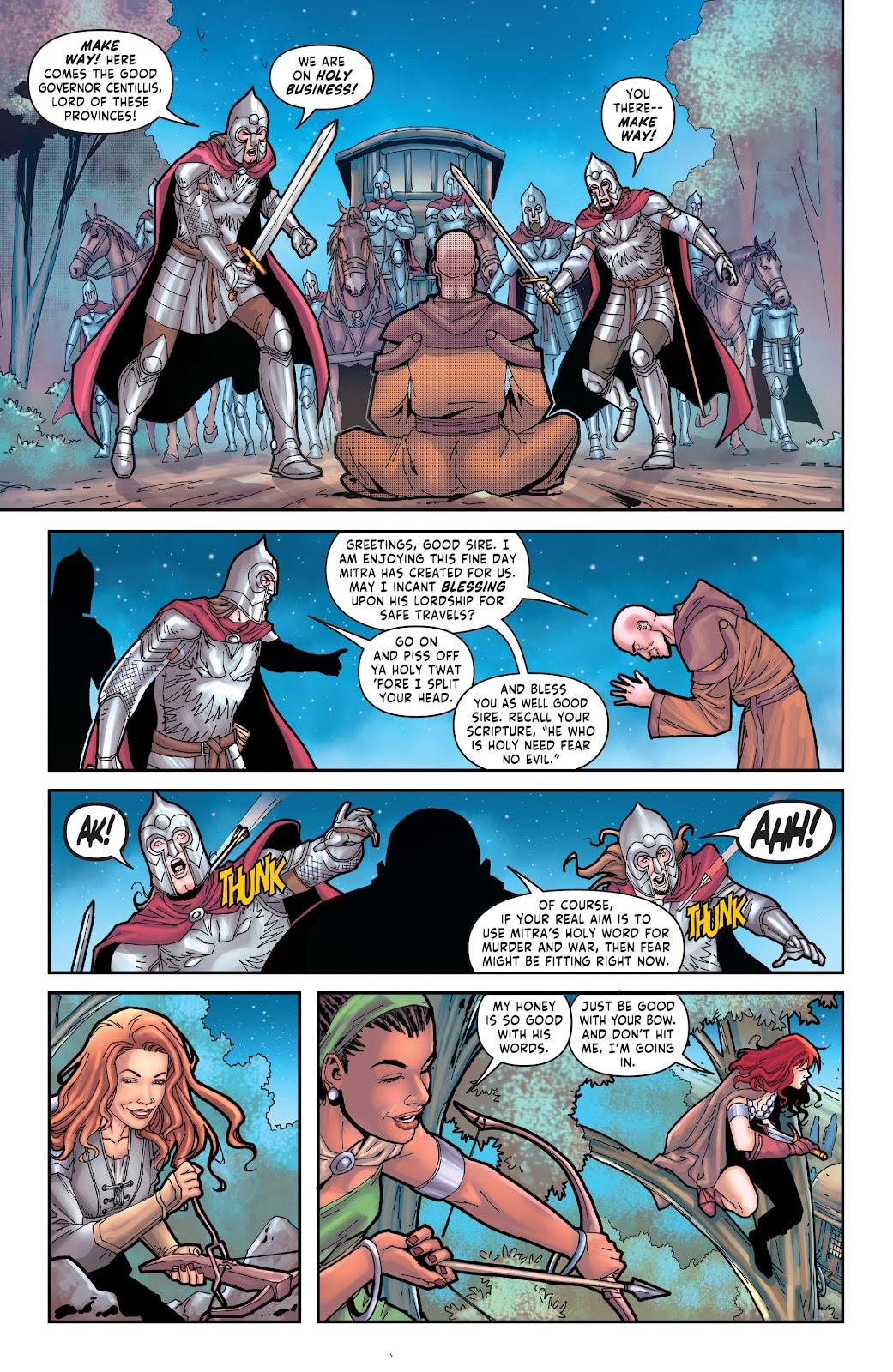 Red Sonja: The Price of Blood issue 3 - Page 9