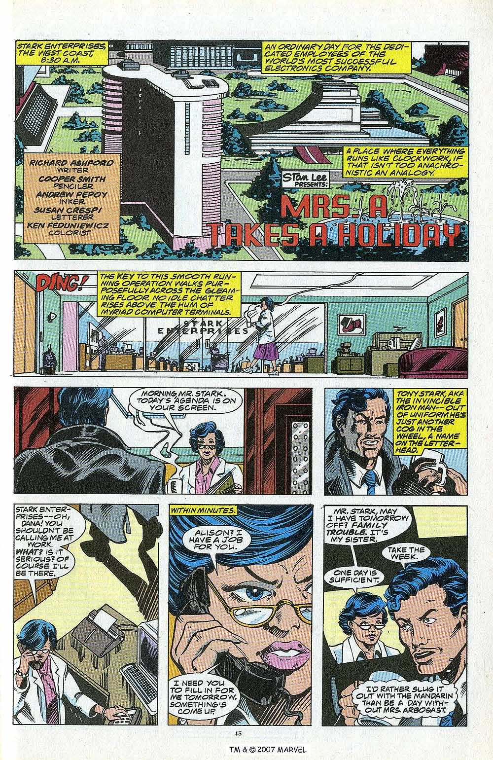 Iron Man Annual issue 13 - Page 47