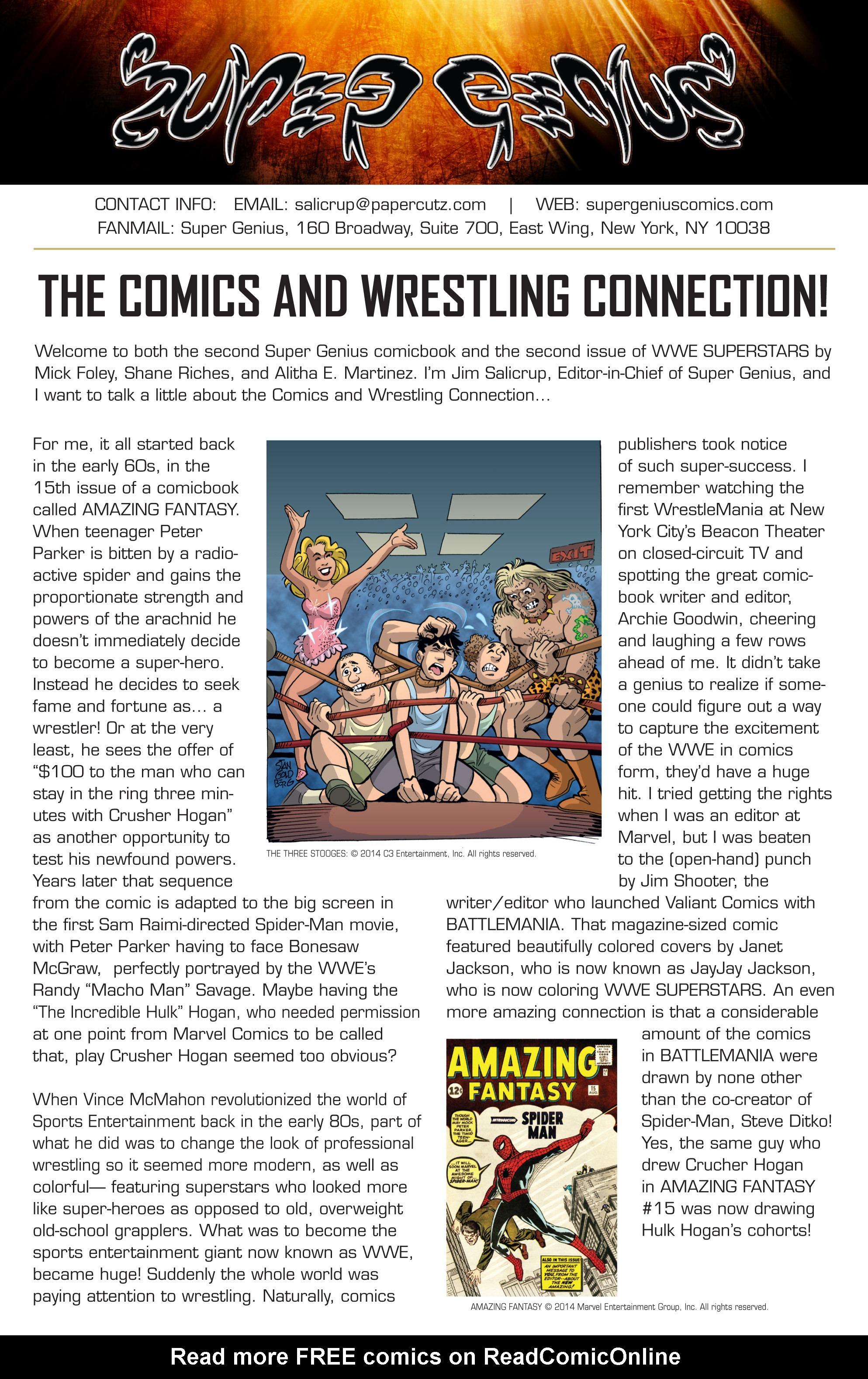 Read online WWE Superstars comic -  Issue #2 - 26