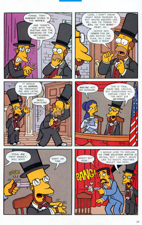 Read online Simpsons Comics comic -  Issue #78 - 26