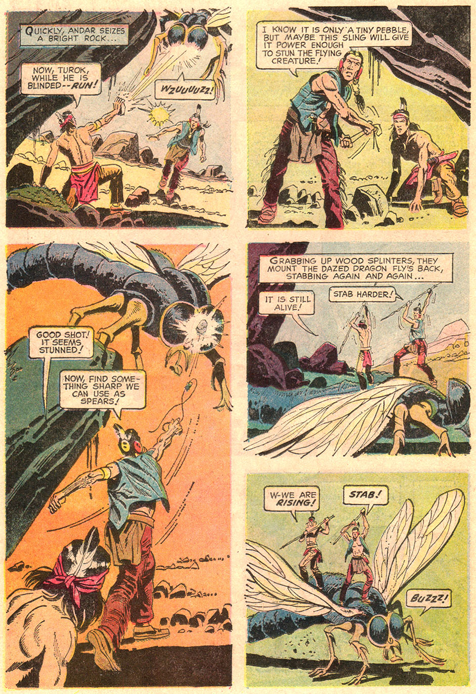 Read online Turok, Son of Stone comic -  Issue #67 - 22